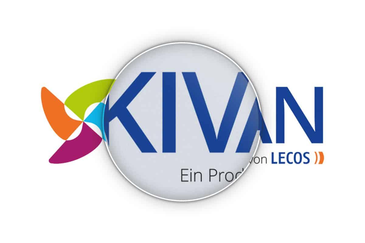 Kivan-Logo unter der Lupe